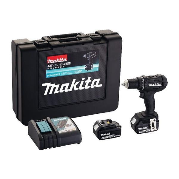 Makita DDF482RFEB 2 x 3,0Ah + Schnellladegerät - Akku Bohrschrauber 18 V