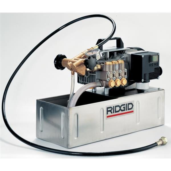 RIDGID 1460-E Elektrische Prüfpumpe 230 V, 40 bar, 1580 W