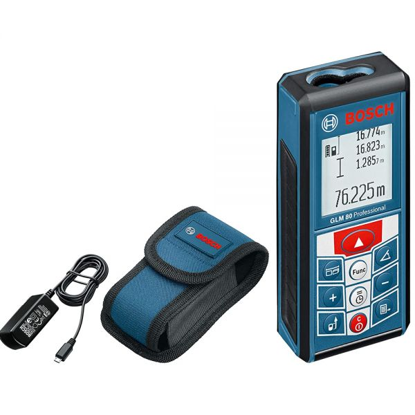 Bosch GLM 80 - Neigungs- Entfernungsmesser