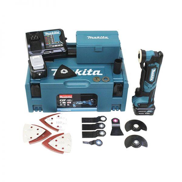 Makita TM30DSMJX5 inkl. 41 tlg. Zubehör Set - Akku Multifunktions Werkzeug 10,8 V