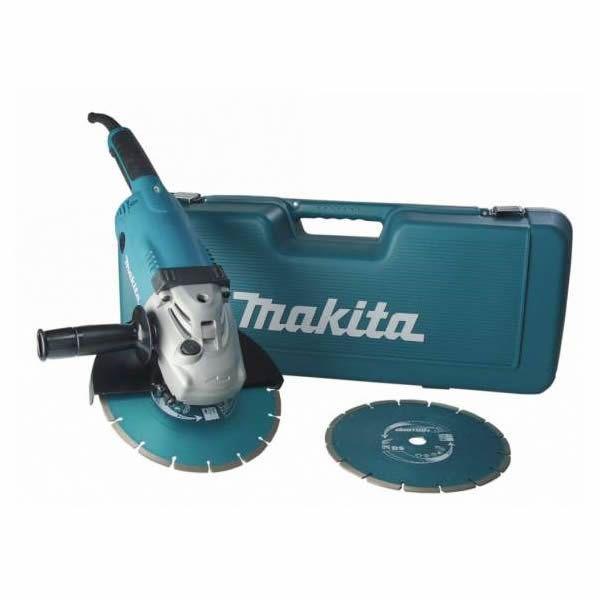 Makita GA9020RFK3 - Winkelschleifer + 2 x Dia. im Koffer 230mm / 2200 Watt