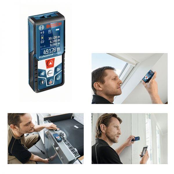 Bosch GLM 50 C Bluetooth - Laser Entfernungsmesser