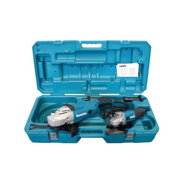 Makita DK0052G GA9020R + 9558NB - Winkelschleifer Set