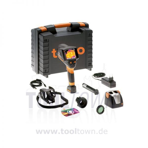 TESTO 875-2i Set Wärmebildkamera mit Digitalkamera + Teleobjektiv + Headset im Koffer - Thermograf