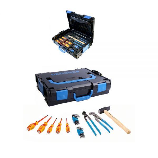 GEDORE Werkzeugset Sortimo 26 tlg. in L-Boxx