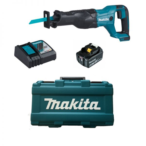 Makita DJR186RM 1 x 4,0 Ah im Koffer - Akku Reciprosäge 18 V