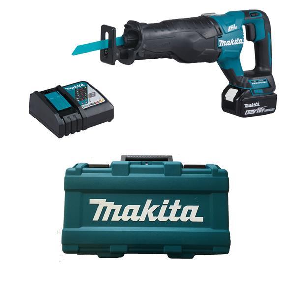 Makita DJR187RT 1 x 5,0 Ah + Ladegerät im Koffer - Akku Reciprosäge 18 V