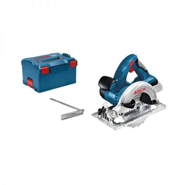 Bosch GKS 18 V-LI solo + L-Boxx - Akku Handkreissäge 18 V