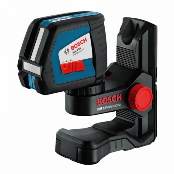 Bosch GLL 2-50 + BM1 Halterung - Laser Linienlaser