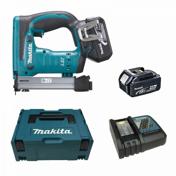 Makita DST221RMJ 2 x 4,0 Ah - Akku Tacker 18 V