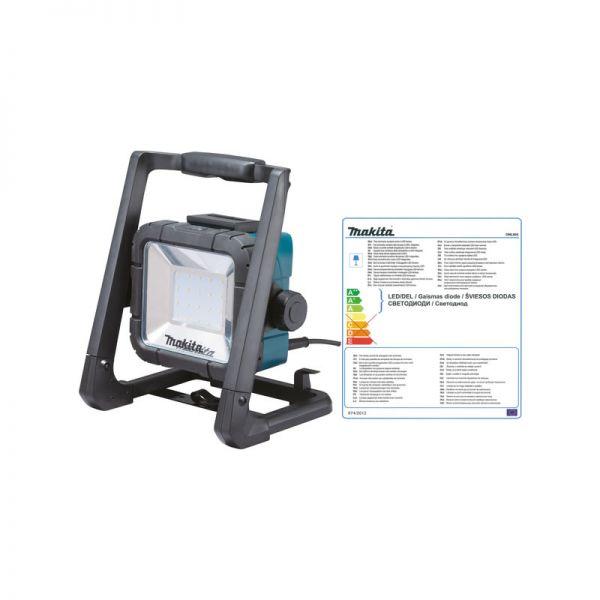 Makita DML805 ( DEADML805 ) - LED Baustrahler 18 V / 14,4 V