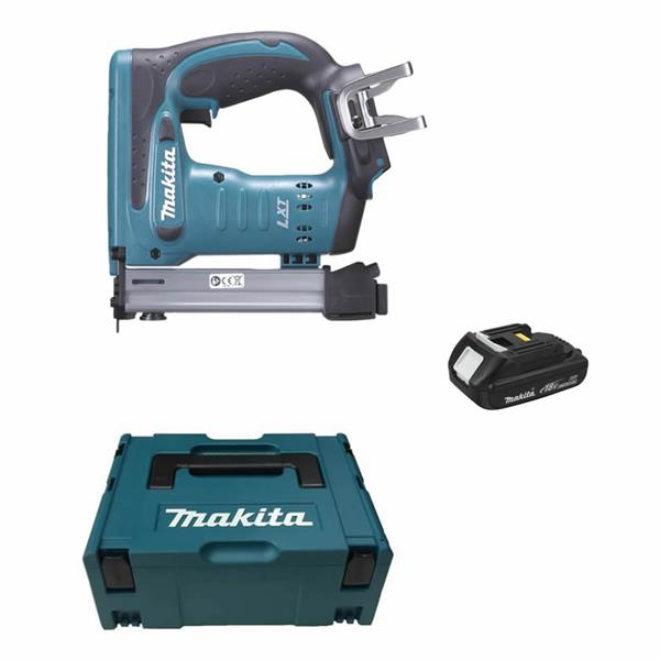 Makita DST221Y1J 1 x 2,0 Ah - Akku Tacker 18 V