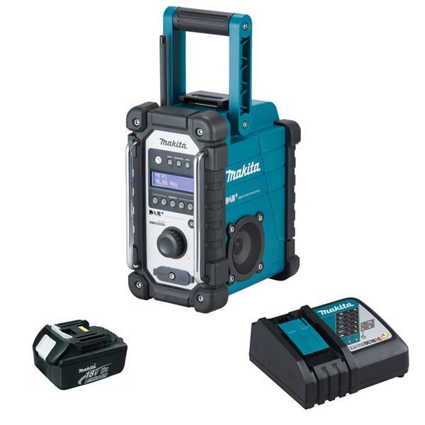 Makita DMR110 1 x 3,0 Ah - Akku Baustellenradio + Ladegerät
