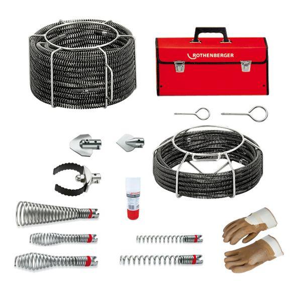 Rothenberger Spiralen Set R600 16-22 mm - 072956X