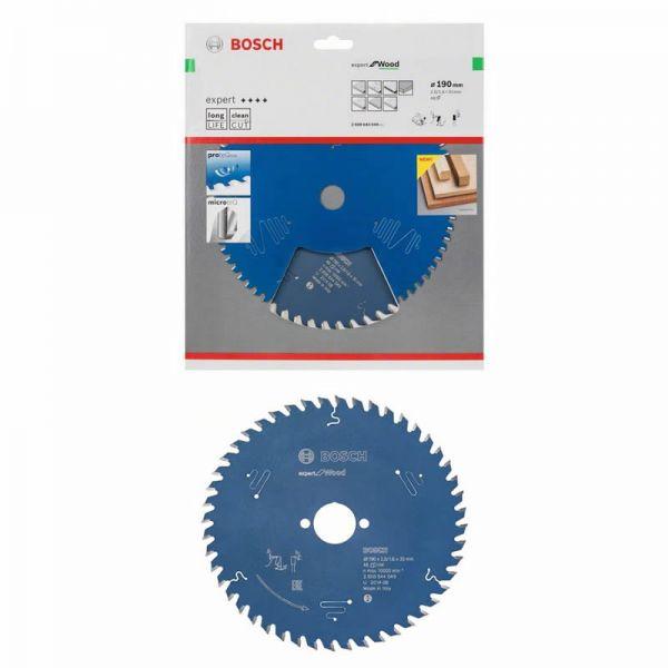 Bosch Kreissägeblatt 190 x 30 mm WZ 48 - Expert for Wood